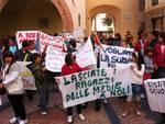 protesta scuole medie Noli