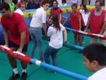 torneo calcio balilla umano Ipercoop
