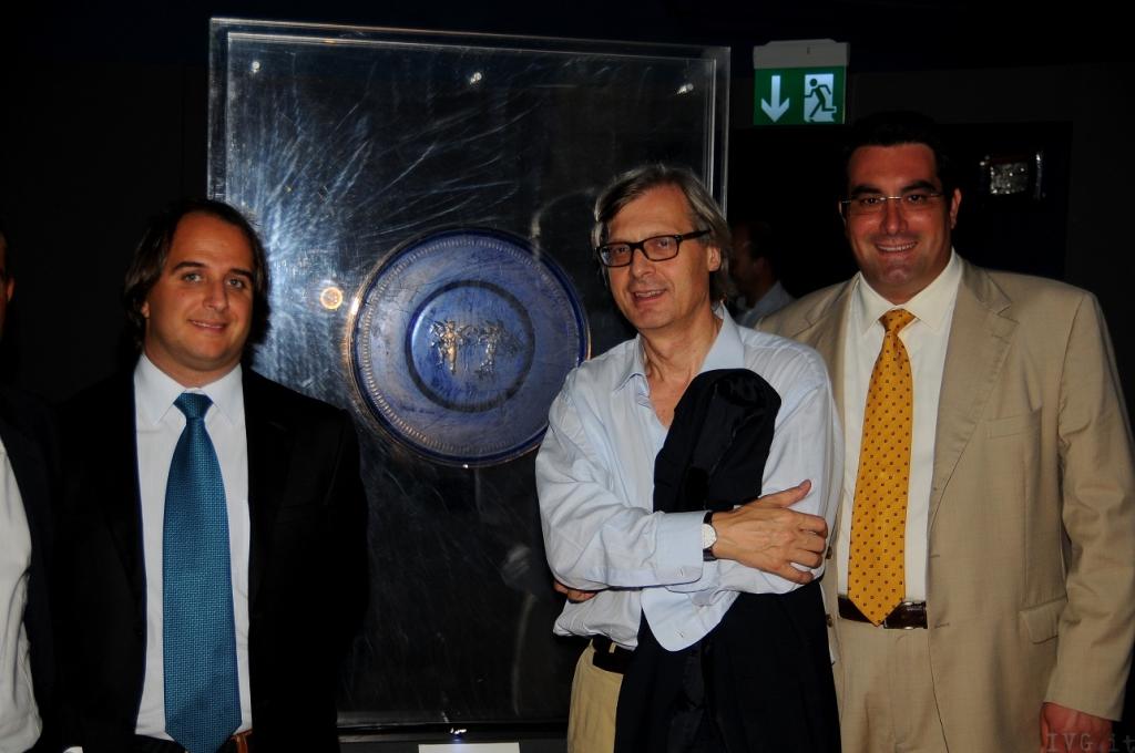 Vittorio Sgarbi ad Albenga