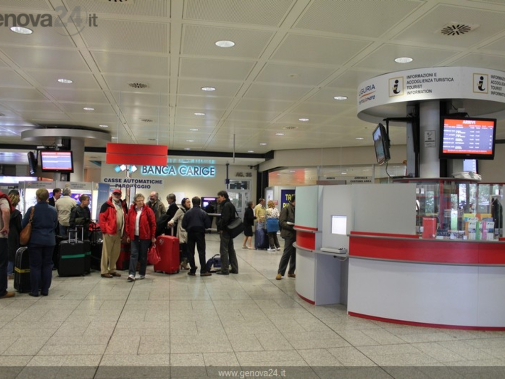 Aeroporto Colombo - arrivi