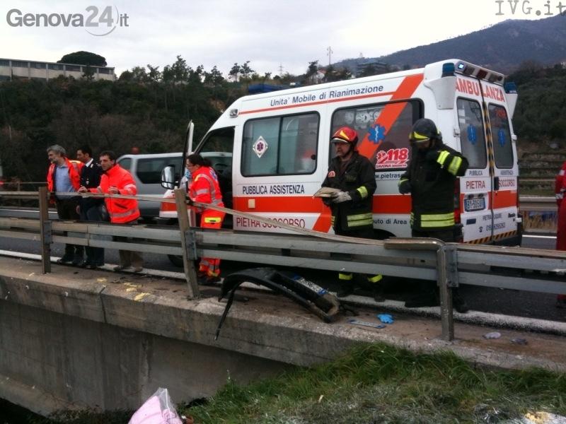 ambulanza e vvff