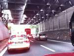 autostrada in coda