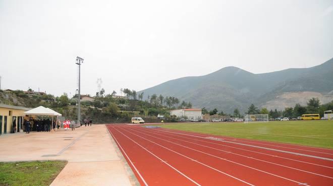 Boissano inaugurazione campo sportivo