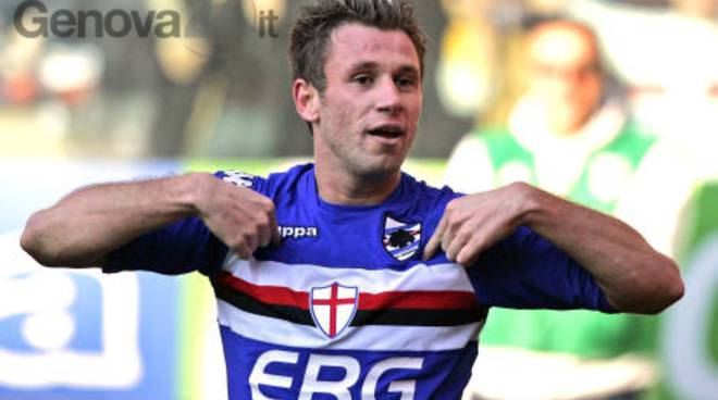 Sampdoria, niente Cina per Cassano: vuole la Serie A