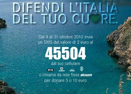 """Fai, campagna """"Difendi l'Italia del tuo cuore"""""""