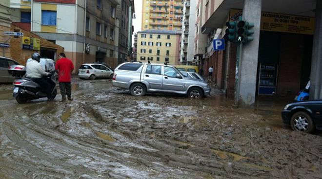 fango strada