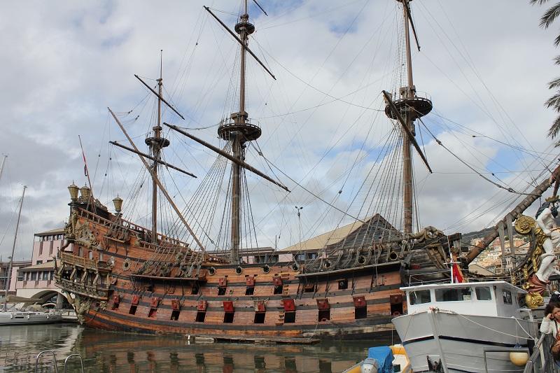 galeone porto