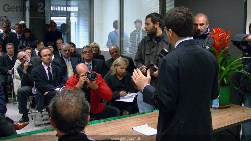 Genova - inaugurazione sede futuro e libertà