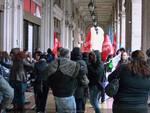 Genova - protesta lavoratori sanità