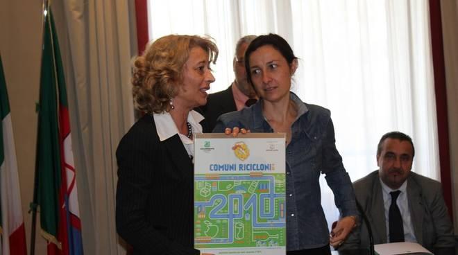 Genova - Regione, premiazione comuni ricicloni