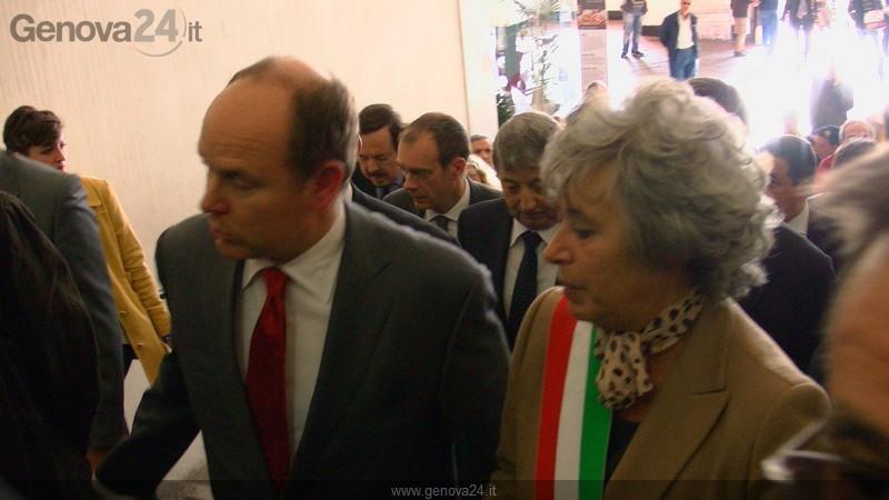 Genova - visita di S.E. Principe Alberto II
