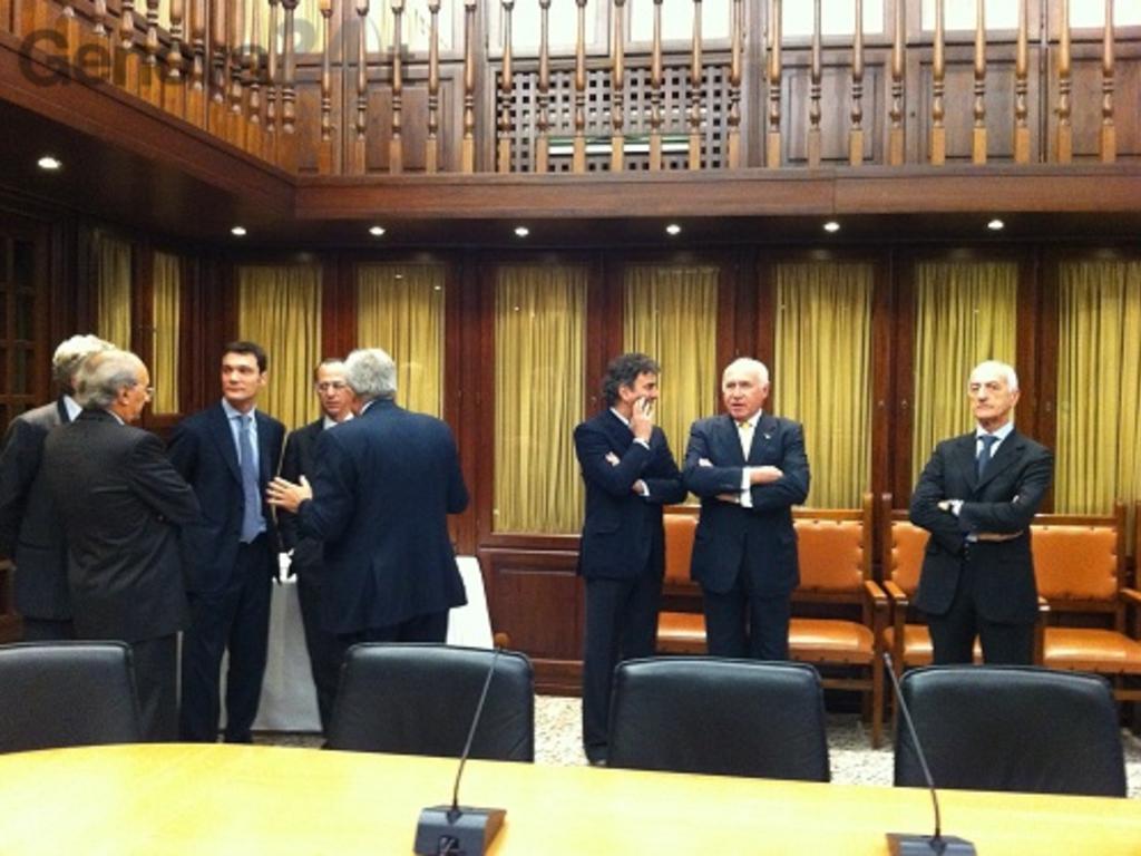 incontro Carlo Felice con ministro Bondi
