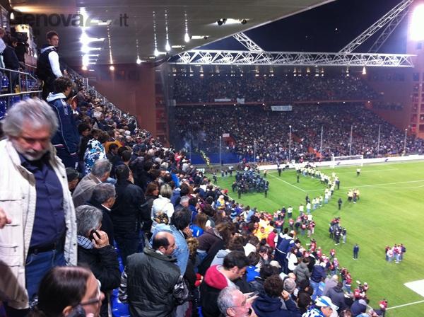 Italia-Serbia partita sospesa