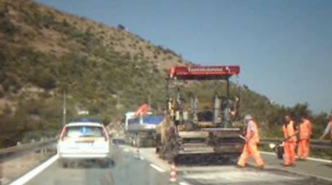 lavori autostrada