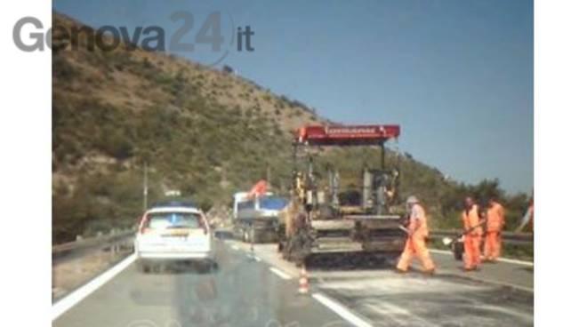 Uscita Genova Aeroporto : Autostrade a chiusa uscita genova aeroporto per