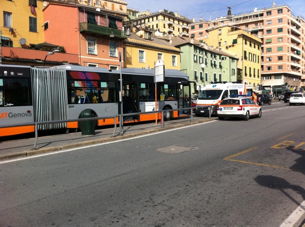 malore sul bus