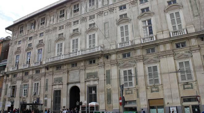 Universit di genova ex saiwa palazzo belimbau ed for Piani di palazzi contemporanei