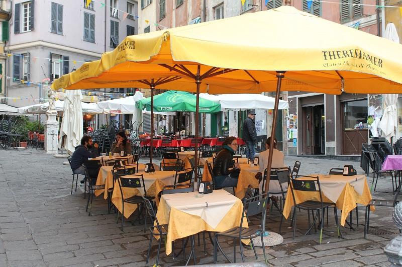 Piazza delle erbe - centro storico