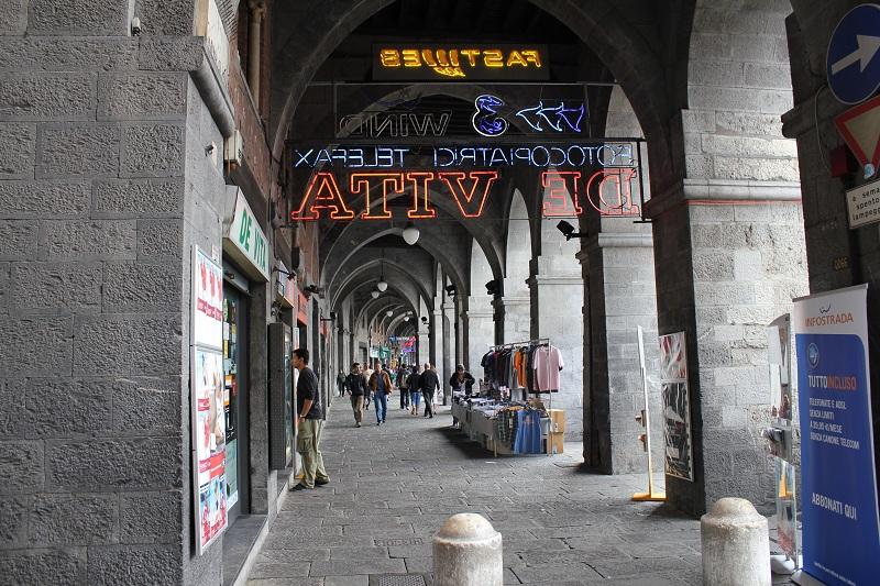 portici, centro storico