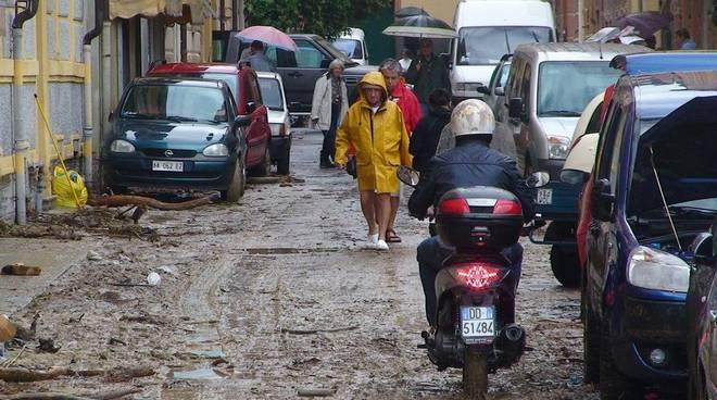 Varazze - alluvione ottobre