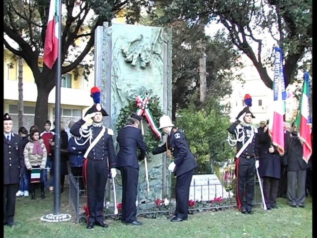 Finale commemorazione Ghione