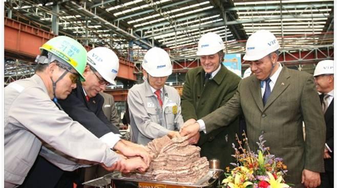 inaugurazione nave gruppo Messina