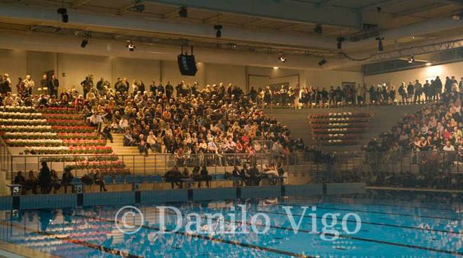 Inaugurazione piscina savona