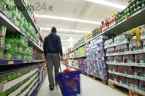 ladro supermercato