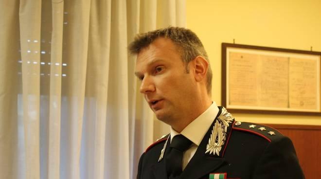 Massimo Pittaluga - comandante compagnia carabinieri Arenzano