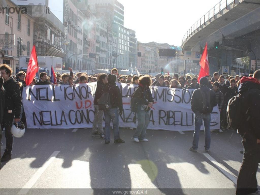 Protesta studenti 17 novembre