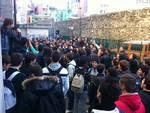 protesta studenti del Boselli-Alberti