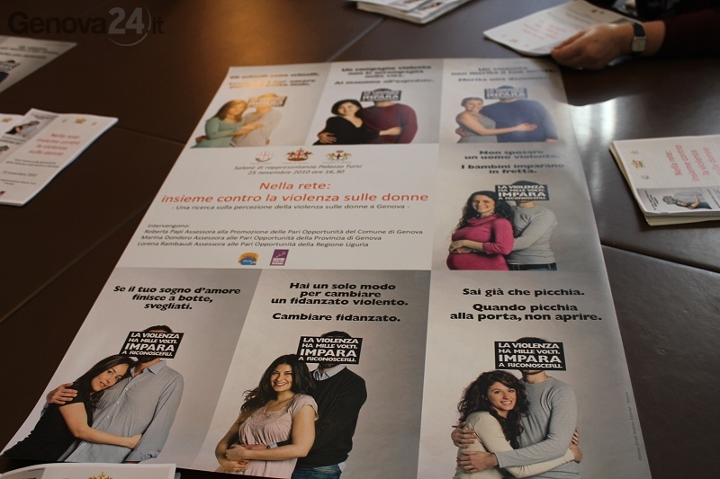 Riunione contro violenza donne