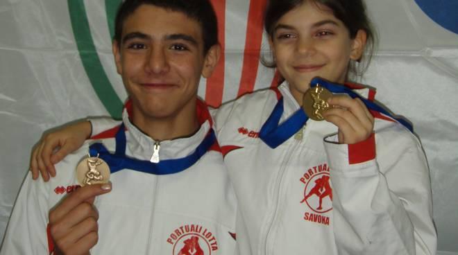 Ambra Campagna e Matteo Giordanella