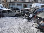 auto incendiate Arenzano