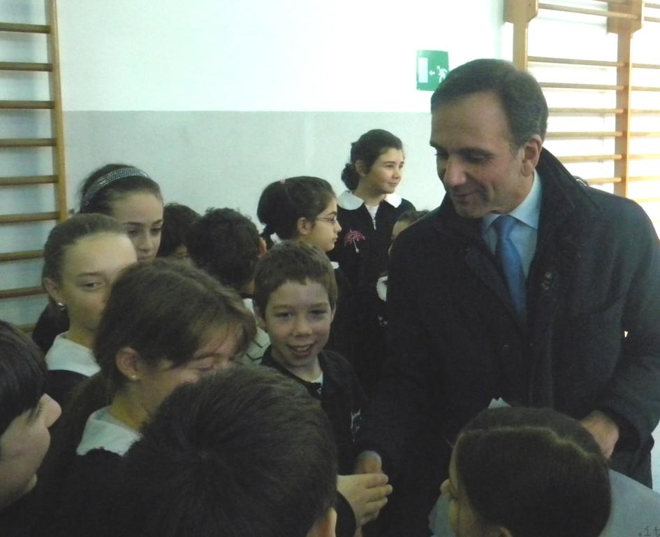 Berruti incontra alunni scuole Legino
