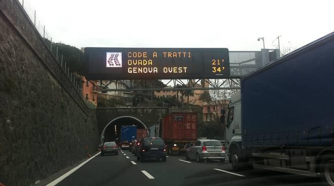cartellone autostrada