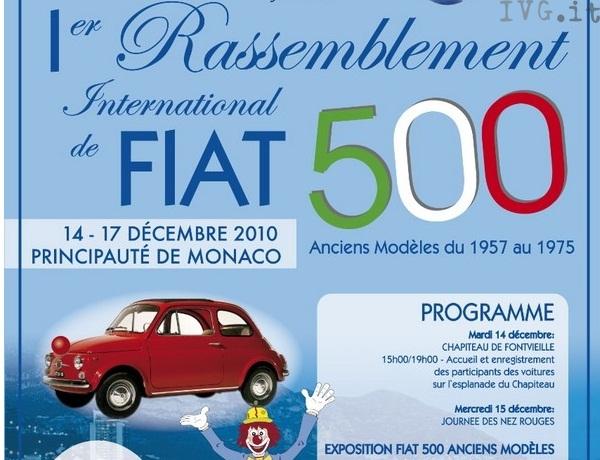 Fiat 500 a Montecarlo