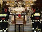 Funerali pompiere morto in servizio