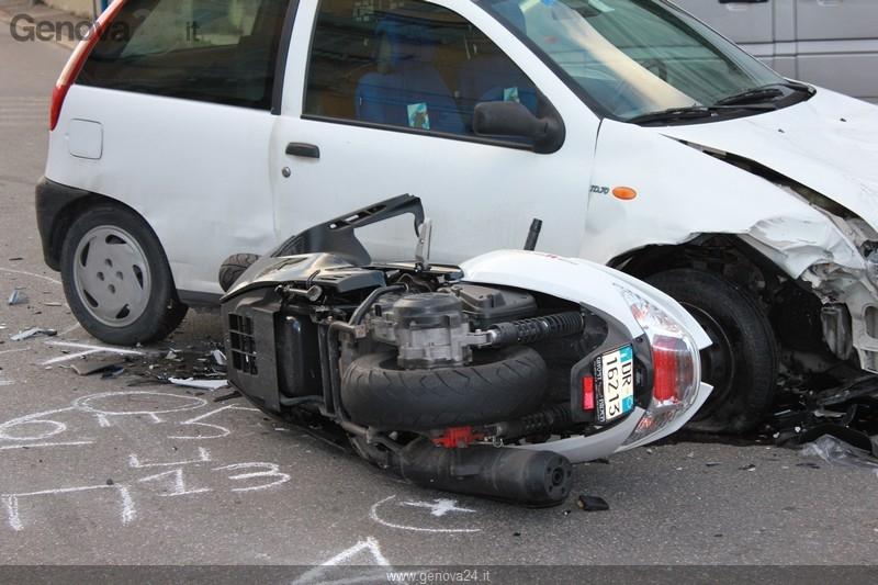 Genova - incidente mortale Rivarolo