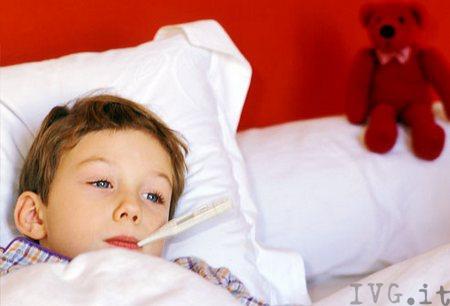 Influenza bambino