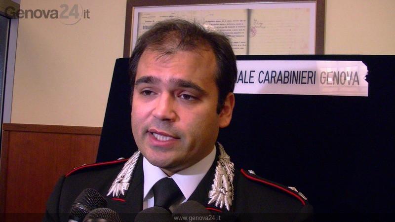 maggiore Oreste Gargano capo nucleo investigativo
