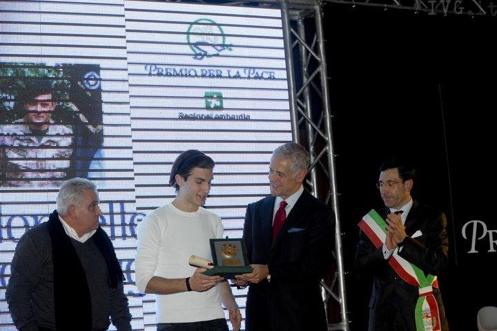 Milano - Aldo Gaggino premio per la pace