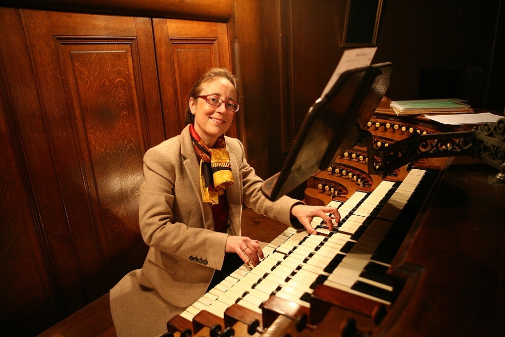 organista Cauchefer Choplin