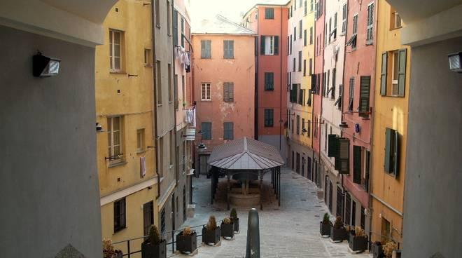 piazza Troguoli di Santa Brigida