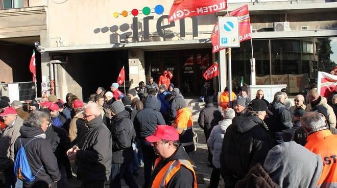 Protesta Lavoratori Gas, Acqua e funzione pubblica