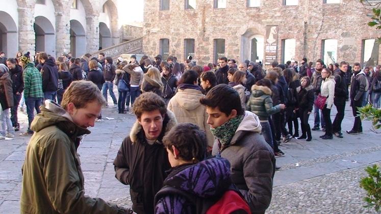 protesta studenti priamar
