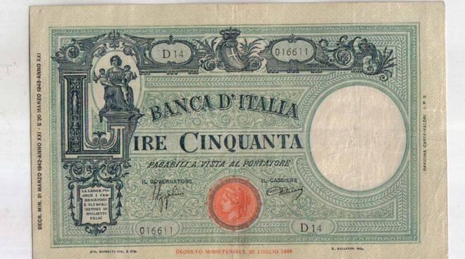 soldi banconote d epoca