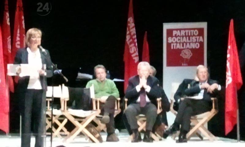 assemblea socialisti con Maurizio Viaggi