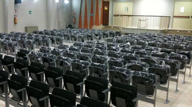 auditorium scuola santa