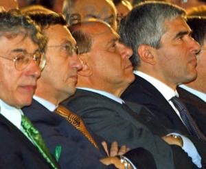 Berlusconi e ex alleati